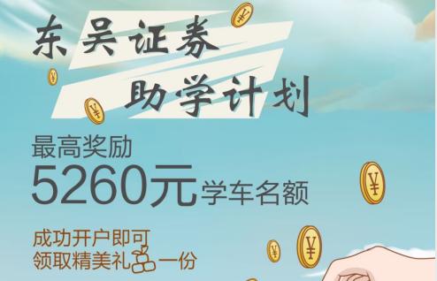 简报39期·学员福利|金秋有惊喜,开户送好礼!